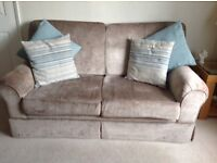 Laura Ashley two seater settee and two armchairs
