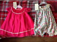 Monsoon brand new 12 month dresses