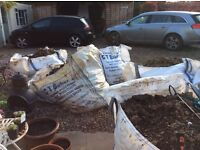 Free soil/stone/gravel mix. Free to collect