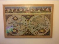 Ravensburger jigsaw puzzle old style map of the world
