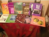 BRITISH DANCE BANDS LP COLLECTION TEN ITEMS