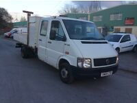 Vw lt 46 drop side double cab