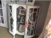 Vintage china glass cabinet