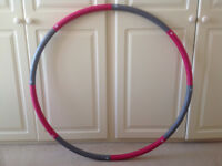 ResultSport® The Original Foam Padded Level 1 Weighted 1.2kg (2.65lbs) Fitness Exercise Hula Hoop
