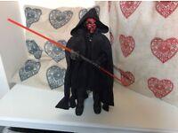 Star Wars Darth Maul. Hasbro 12 inch figure.