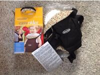 Infantino Easy Rider baby carrier black excellent used