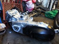Honda fjs600 silverwing engine only done 1200 miles