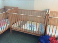 Wooden Baby Cots x 6