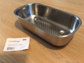 Franke strainer bowl 112.0006.086 Stainless Steel Brand new. A1 condition. 182 x 334 x 80mm
