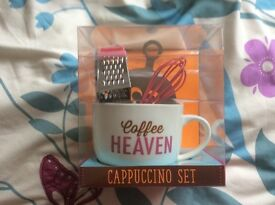 Cappuccino gift set