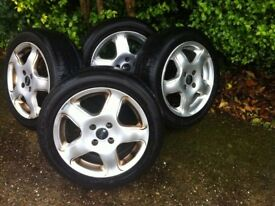 Alloy Wheel Rims and New Bridgestone Tyres