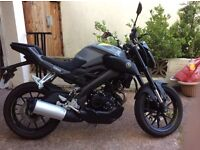 Yamaha MT125 ABS almost new