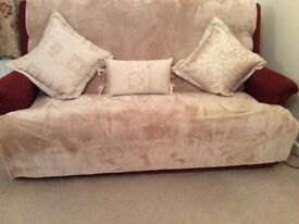 3 duck feather cushions as new