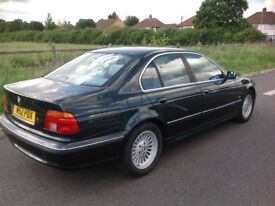 For sale BMW 5 series automatic excellent condition in and out