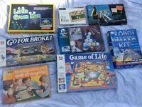 Multiple board games 4