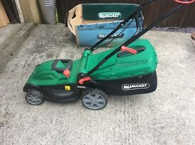 Qualcast electric rotary lawn mower 1600w