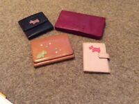 Selection of Radley purses/wallets