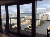 Flat share: Double Bedroom available for rent, Gym, Concierge walking distance Canary Wharf.