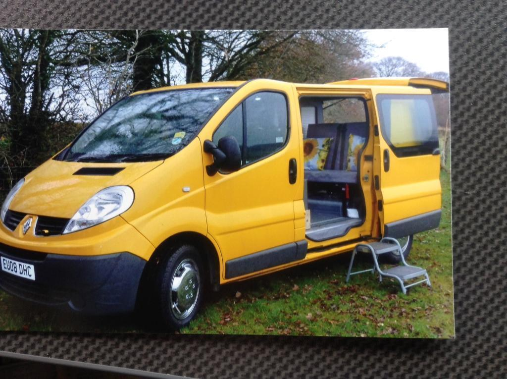 renault trafic camper van in taunton somerset gumtree. Black Bedroom Furniture Sets. Home Design Ideas