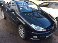2005 Peugeot 206 cc Automatic Allure Leather Mot'd Runs & Drives Perfect 23k Miles Px Welcome