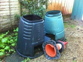 compost bins x 2 - FREE - located in Church Crookham