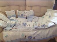 Safari Friends Cotbed Bedding Bundle