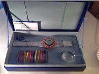 Rare women's watch set from Hong Kong designer £35