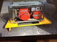 Honda petrol generator £150