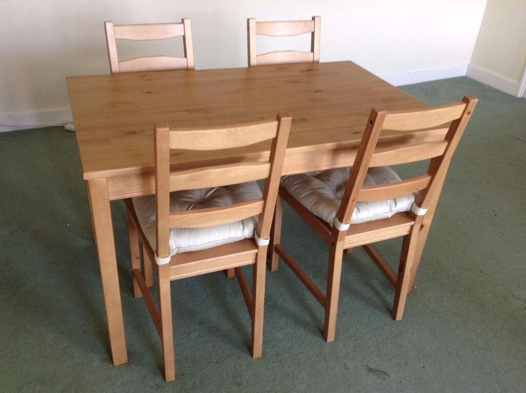 Ikea Jokkmokk Table And Four Chairs In Bath Somerset
