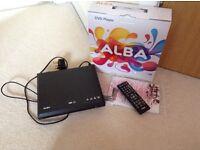 Alba DVD player - almost brand new