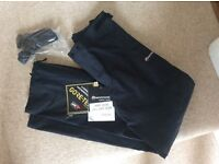 Montane Alpine Pro Technical Mountain Shell Pants.Brand new .Size small