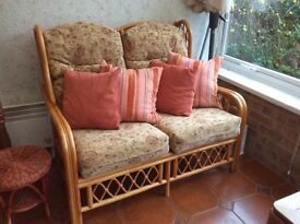Conservatory sofa and 2 chairs