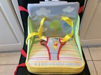 FIRST YEARS TRAVEL HIGHCHAIR BOOSTER SEAT