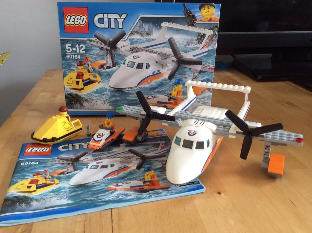 LEGO 60164 Sea Rescue Plane Construction Toy 5-12 years