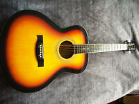 Folk Guitar by Chicago, ideal guitar to learn on as it's so easy to play.