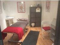 A small Therapy room available in New Malden £10phr short term or £200 per month.