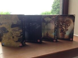 Game of thrones box sets (1 to 5)