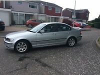 BMW 318i SE Saloon (Silver) 2003 Automatic