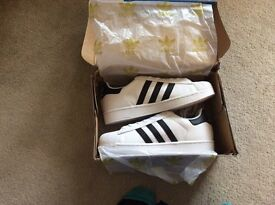 Adidas Superstar trainers BNIB