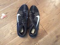 Nike football boots, size 6