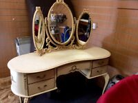 Vintage French style dressing table