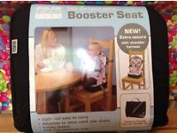 Go Anywhere Booster Seat Travel Highchair