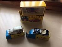 Collectors cars x3