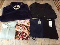 X6 BUNDLE of Size 10 clothes. NEXT, AUTOGRAPH (M &S), WHITE STUFF, TU & GEORGE. Three with tags.