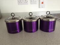 Morphy Richards Food Canisters