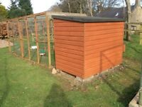 Poultry House and Run for sale