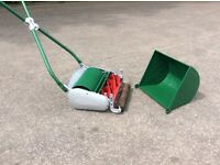 "Ransomes Ajax mk4 12""push cylinder lawnmower"