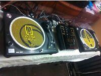 Technics Turntables and Mixer