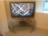 Alphason Plasma/LCD TV glass stand and support