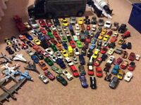 HUGE COLLECTION DIE CAST TOY CARS AND CAR CARRIER